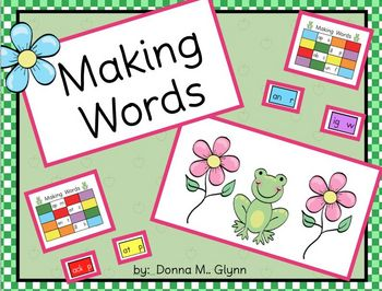 Making Words Game Board