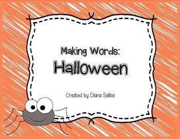 Making Words- Halloween