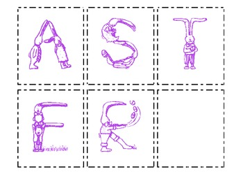 Making Words - Happy Easter