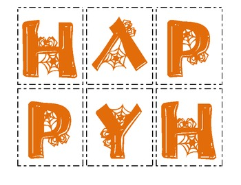 Making Words - Happy Halloween