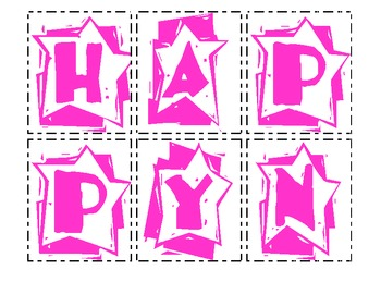 Making Words - Happy New Year & New Year's Eve