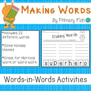 Making Words - Just For Fun