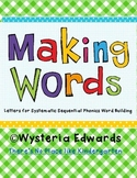 Making Words Large Letters