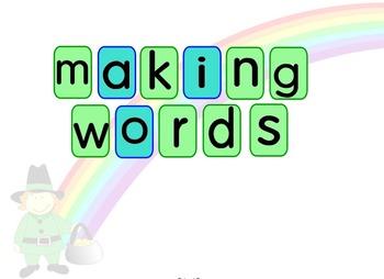 Making Words: Leprechaun