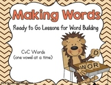 Making Words Lessons with CVC words