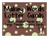 Making Words Letter Cards
