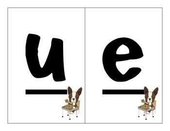Making Words Letter Cards