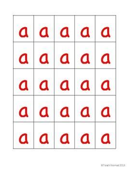 Making Words Letter Tile Cards