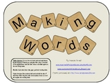 Making Words Long A