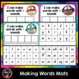 Making Words Mats