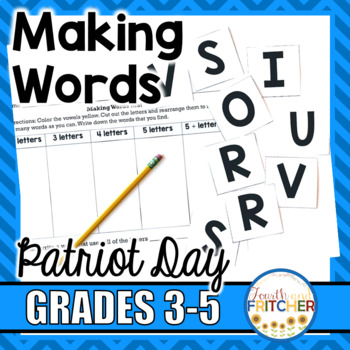Making Words: Patriot Day
