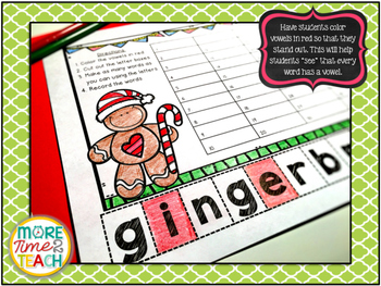 Making Words Plus {December Edition FREEBIE}