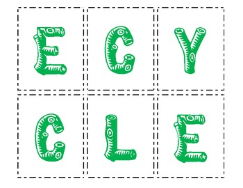 Making Words - Reduce, Reuse, Recycle