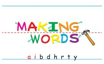 -ay Word Family Sorting Lesson- Birthday- Making Words for the SMART Board