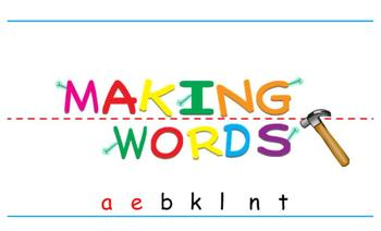 -ank Word Family Sorting Lesson- Blanket- Making Words for the SMART Board