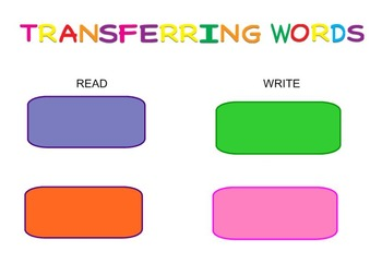 -ain Word Family Sorting Lesson - Camping - Making Words for the SMART Board