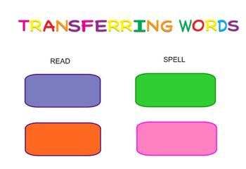 -ay Word Family Sorting Lesson- FAMILY- Making Words for the SMART Board