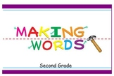 -ay Word Family Sorting Lesson- FAMILY- Making Words for t