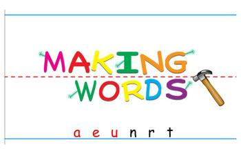 -eat Word Family Sorting Lesson- Nature- Making Words for