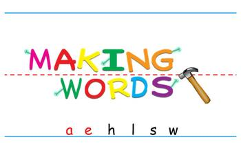 -ale Word Family Sorting Lesson - Whales- Making Words for