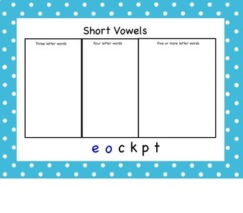 Making Words Second Grade Phonics Spelling Skills