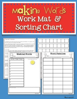 Making Words SmartBoard Lesson Primary Grades