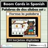 Making Words Spanish Boom Cards Set  2