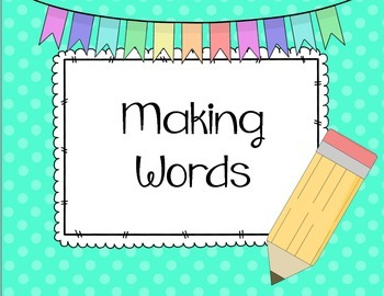 Making Words Spring