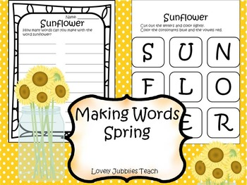 Making Words: Spring