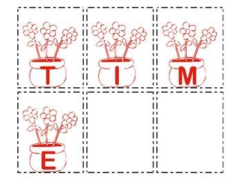 Making Words - Springtime 1
