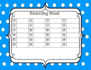Making Words Task Cards for Short Vowel CVC Words
