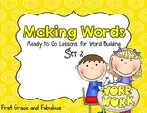 Making  Words-Ready to Go Lessons for Word Building (Set 2)