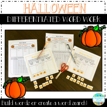 Making Words: Trick or Treat