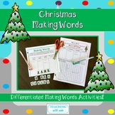 Making Words: Word Work for Christmas