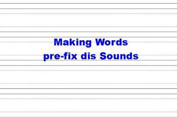 Making Words and Making Big Words Flipcharts