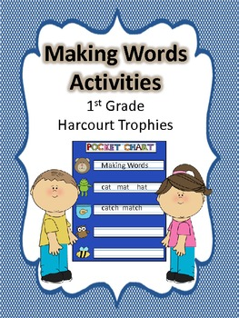 Making Words for 1st Grade Spelling