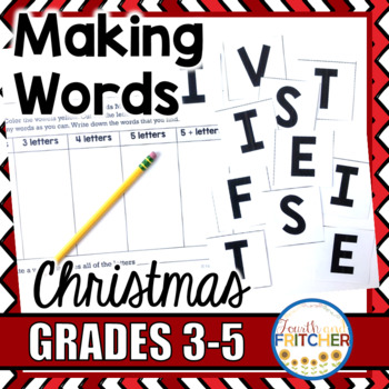 Making Words: Christmas