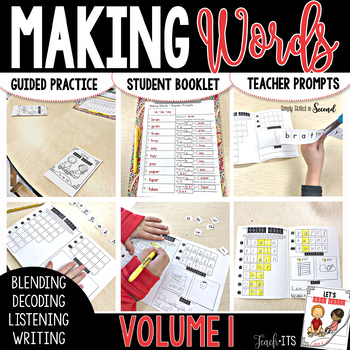 Making Words for Guided Reading Lessons