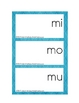 Making Words-syllable mats