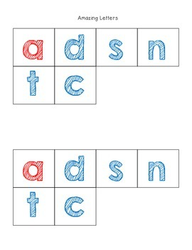 Making Words with Short a-Freebie!