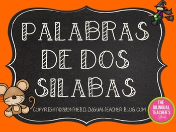 Making Words with Syllables in Spanish