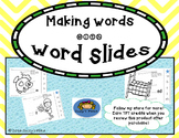 Making CVC Word Families with Word Slides