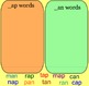 Making Words with the SmartBoard: /ap/ and /an/ word families