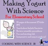Making Yogurt Science Experiment For Elementary School