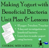 Making Yogurt with Beneficial Bacteria: Prokaryotic Cells 4 Day Unit