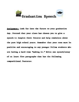 Making Your Motivational Graduation Speech