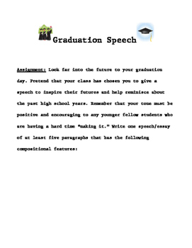 Graduation Speech Worksheets Teaching Resources Tpt
