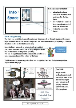 Making Your Own Comics in Microsoft Word