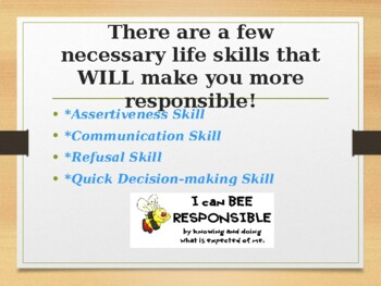 Making Yourself More Responsible!