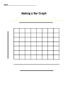 Making a bar graph template by bre doyle teachers pay for Blank picture graph template